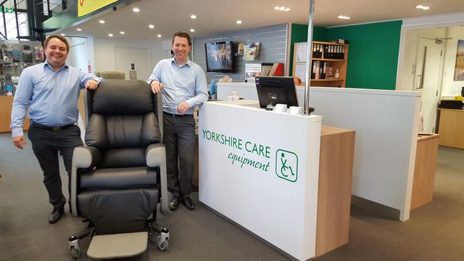 Yorkshire Care Equipment Launch the Lento Care Chair