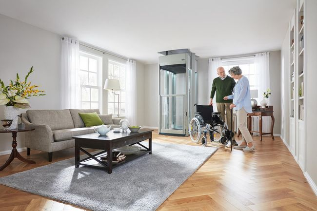 Stiltz Trio+ Wheelchair Accessible Home Lift