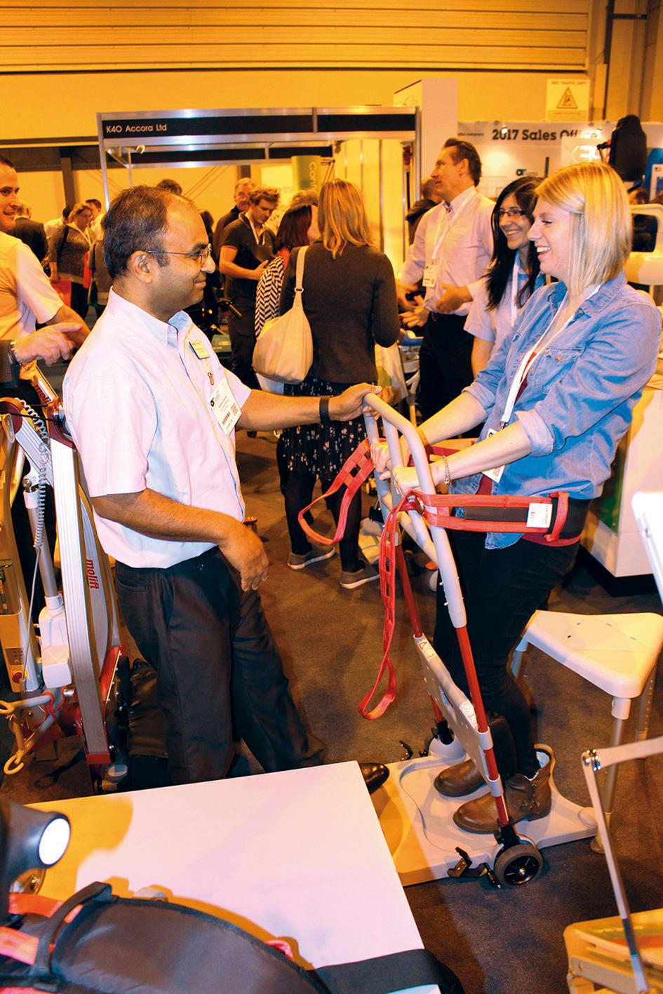 OT-SUPPORTED NEW ETAC R82 PRODUCT SHOWCASE GENERATES SIGNIFICANT INTEREST AT OCCUPATIONAL THERAPY SHOW