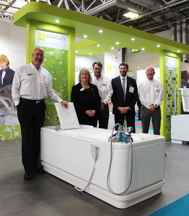 Accessible bath specialist Abacus Healthcare to showcase '#BathingIsBetter' campaign at OT Show