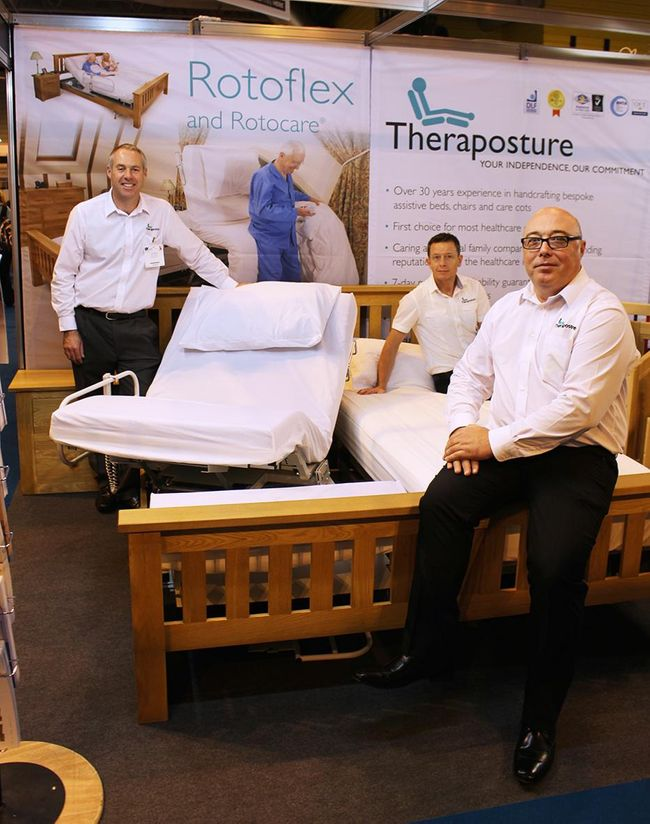 THERAPOSTURE TO SHOWCASE WHY ITS EXTENSIVE ROTOFLEX RANGE IS FIRST CHOICE FOR HEALTHCARE PROFESSIONALS AT OT SHOW