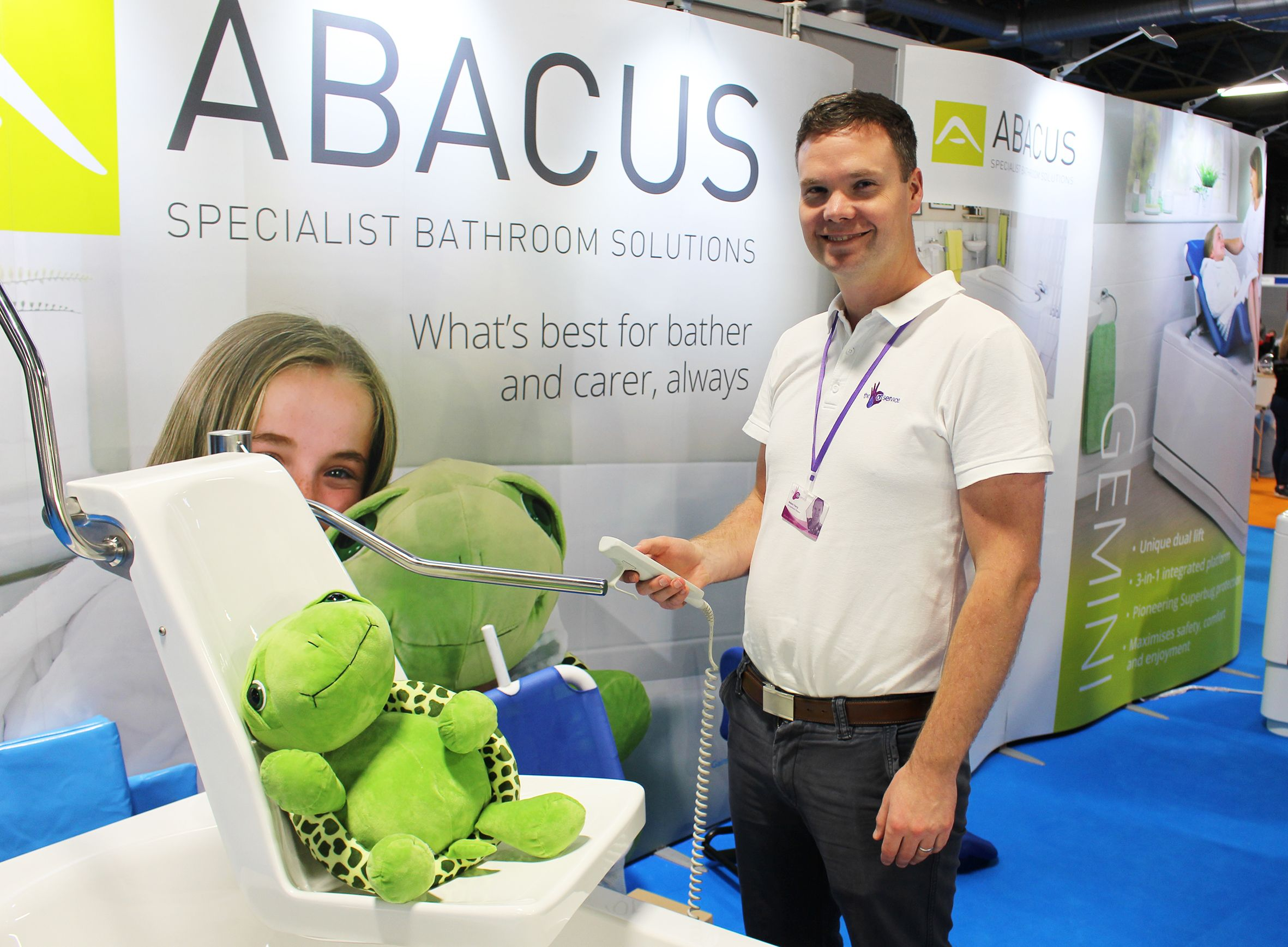 Adam Ferry OT to present 'Exploration of medical and functional bathing' CPD seminar at Occupational Therapy Show