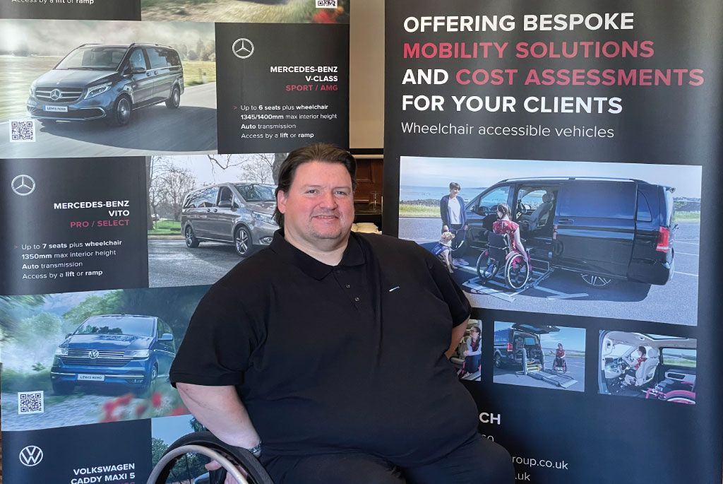 New Mobility Specialist Joins Lewis Reed