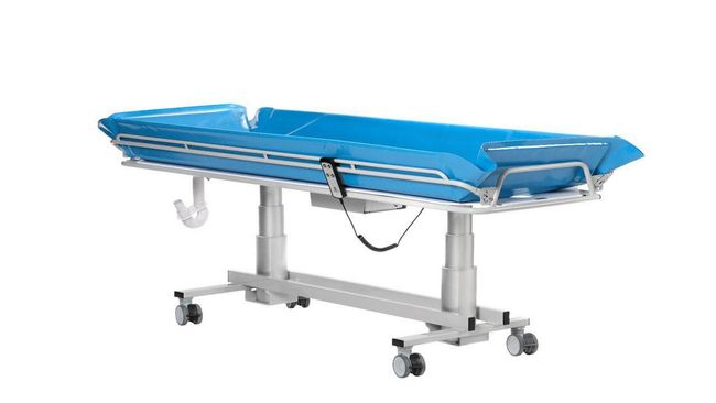 New TR3200 Shower Trolley Rated at 200kg from TR Equipment UK Ltd