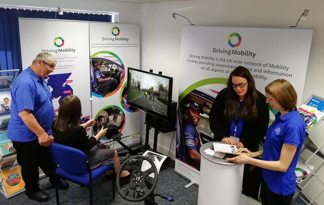 Driving Mobility showcases vital Driver Assessment education at OT Show