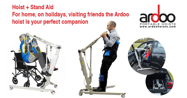 Sales continue to grow for Ardoo Portable Hoists