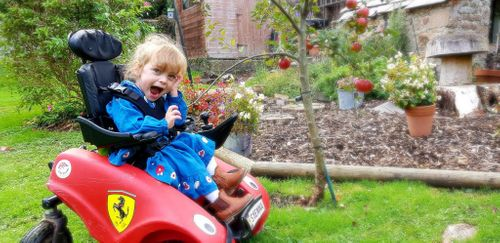 Designability will be 'wizzing' into The OT Show with their paediatric wheelchair
