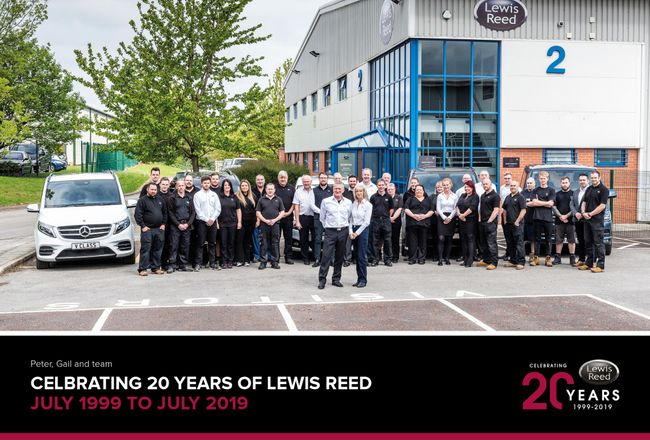 LEWIS REED – CELEBRATING 20 YEARS OF MAKING A DFFERENCE