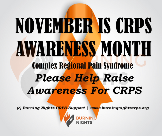 Help Raise Awareness of Complex Regional Pain Syndrome (CRPS)