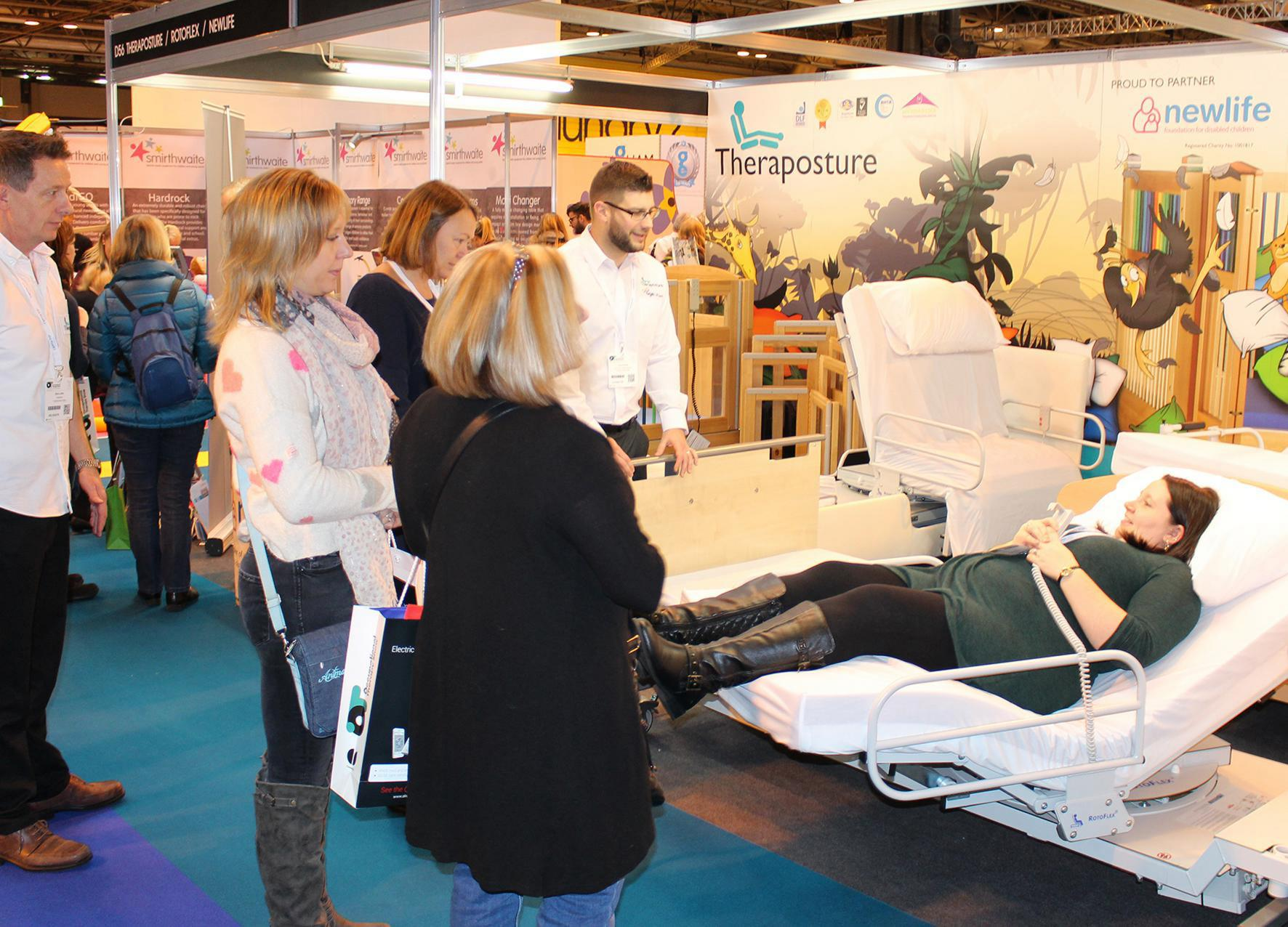 Theraposture to extend market-leading Rotoflex bed range  with pioneering new additions at OT Show