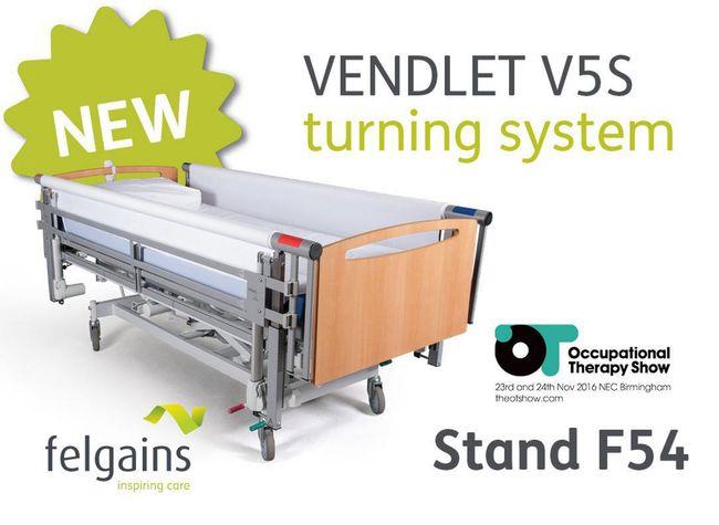 VENDLET V5S: the world's first mechanised turning system at OT Show 2016