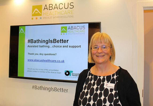 OCCUPATIONAL THERAPISTS BENEFIT FROM ABACUS HEALTHCARE BATH FUNDING GUIDANCE AT OT SHOW
