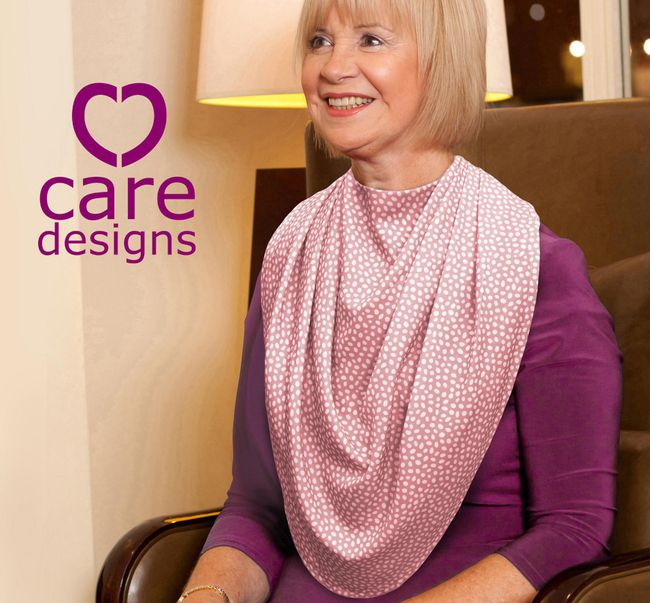 New colours for Care Designs' Scarf Style Clothing Protector range