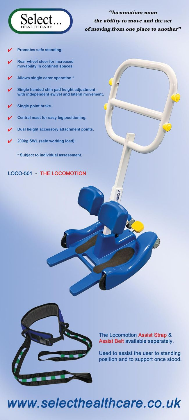 The LOCOMOTION by Select Health Care (UK) Ltd
