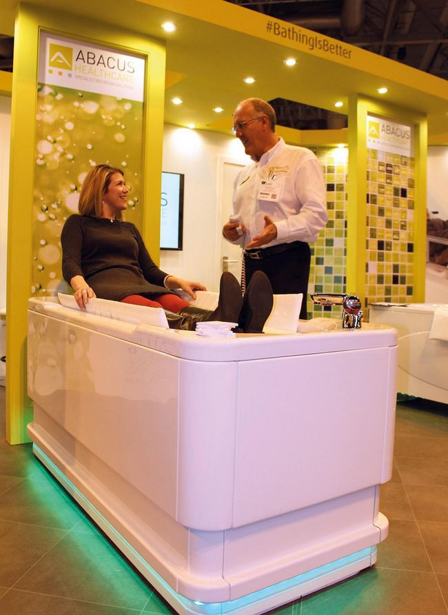 Accessible bath specialist Abacus Healthcare to  offer diverse educational showcase at OT Show