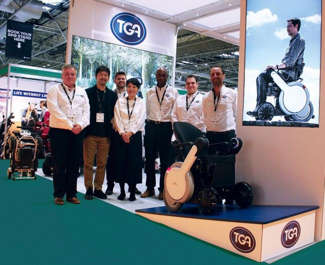 TGA TO DEBUT AT OT SHOW WITH LATEST ERGONOMIC WHEELCHAIRS, POWERPACKS AND WHILL POWERCHAIR