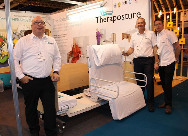OT'S DISCOVER HOW THE ONLY ROTOFLEX BED AND UNIQUE MASCOT COT FROM THERAPOSTURE DELIVER SIGNIFICANT SAVINGS AT OT SHOW