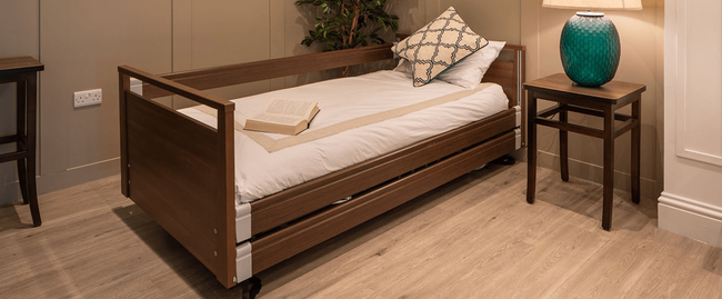 Specify your client's next care bed with a Signature from Opera Care