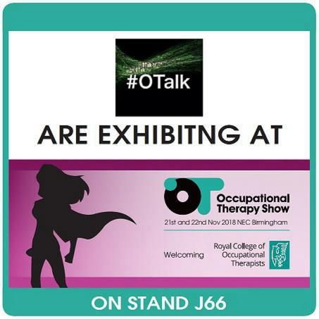 Join The OT Show, Jen Gash (OTcoach) and OTalk for our September Twitter Chat on Tuesday 18th Sep from 8pm - 9pm