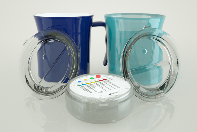The mug that tells you when it's time to have a drink