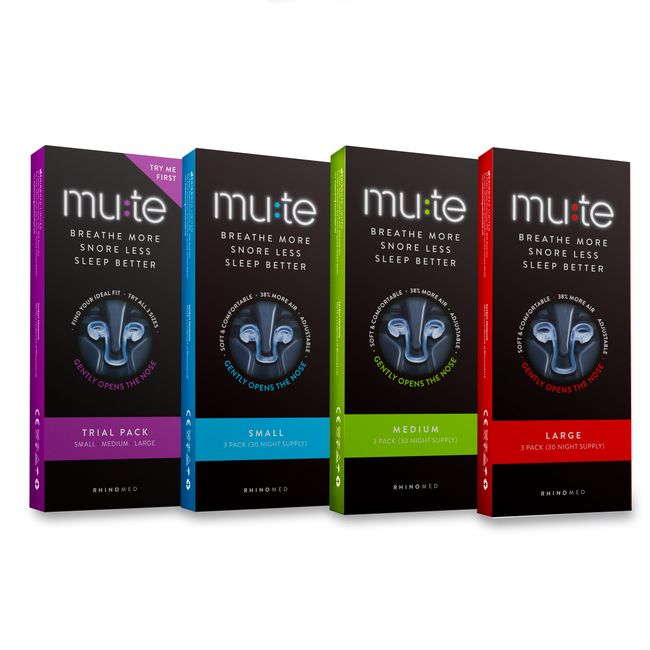 Breathe More, Snore Less, Sleep Better with Mute.