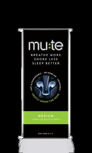 Mute Medium Pack