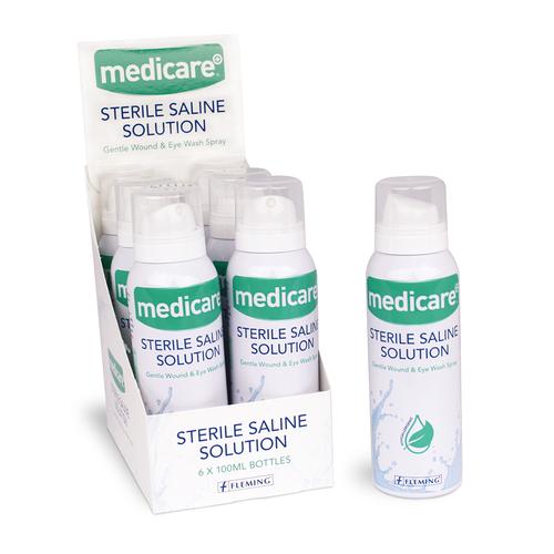 Medicare Sterile Saline Solution