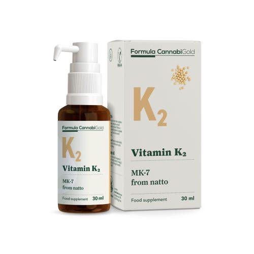 Formula CannabiGold - Vit K2 from Natto