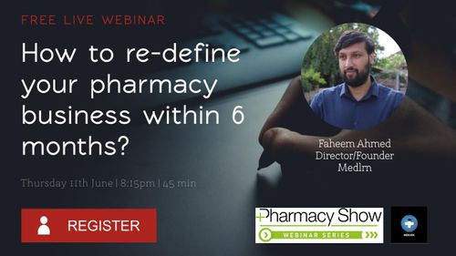 How to re-define your pharmacy business within 6 months?
