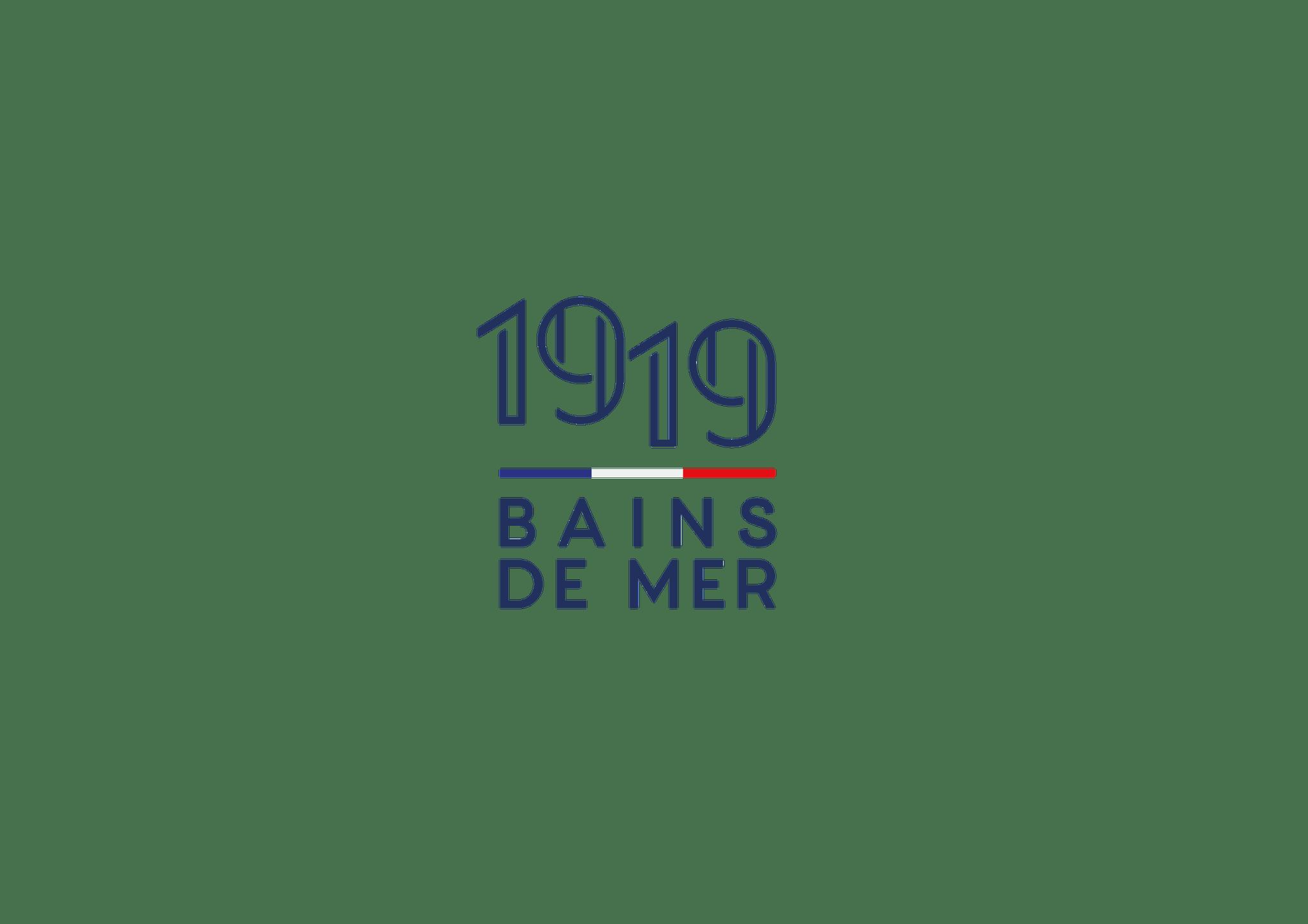 1919 Bains de mer