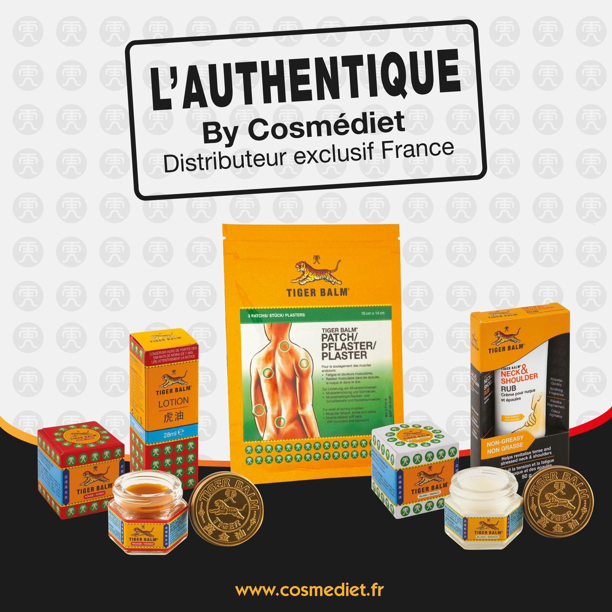 L'Authentique BAUME DU TIGRE® de Cosmédiet, une valeur sûre qui ne cesse de progresser en pharmacie.