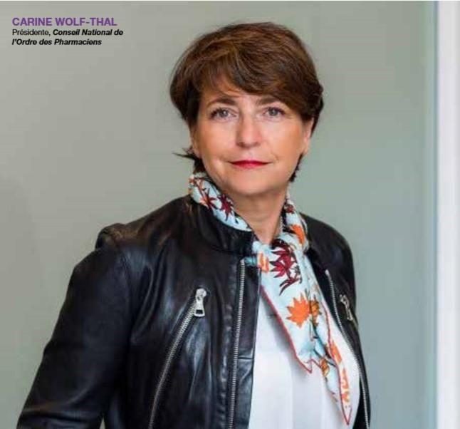 LA DÉMARCHE QUALITÉ À L'OFFICINE : INTERVIEW DE CARINE WOLF-THAL, PRÉSIDENTE DU CONSEIL NATIONAL DE L'ORDRE DES PHARMACIENS