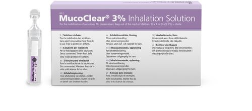 MucoClear hypertonic saline for inhalation