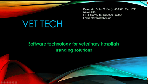 Software Technology for Veterinary Hospitals