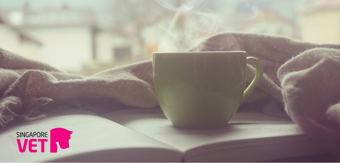 When things get tough, grab a cuppa and a good read