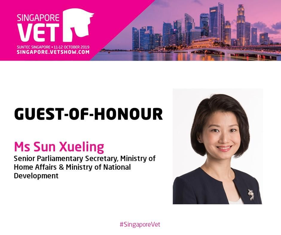 Guest-of-Honour: Ms Sun Xueling, Senior Parliamentary Secretary for Home Affairs and National Development