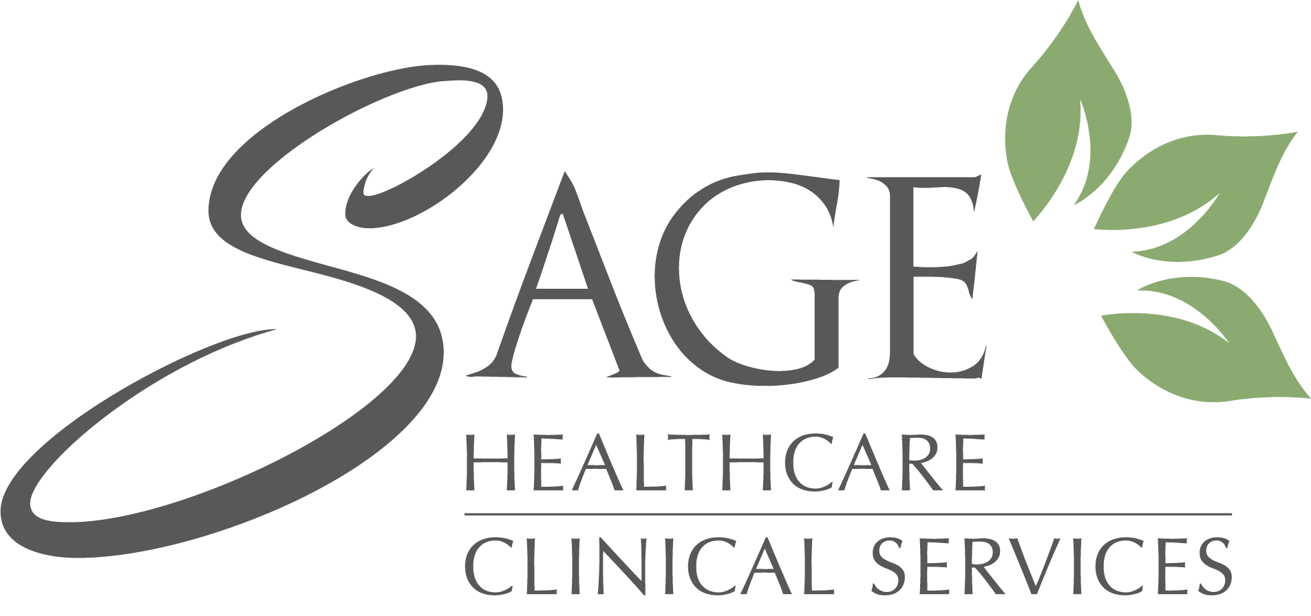 SAGE Healthcare Clinical Services Logo (Transparent Background)