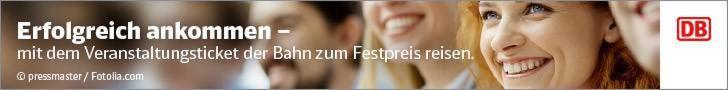 Veranstaltungsticket Deutsche Bahn
