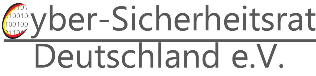 Cybersicherheitsrat Deutschland e.V.