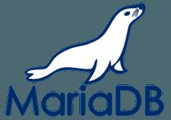 MariaDB-reflex-blue-seal-blue-lettering-below-plainsvg-250px