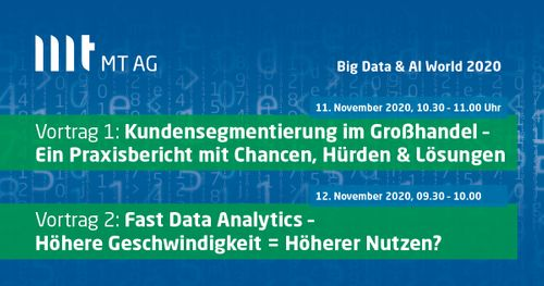 MT AG auf der Big Data & AI World 2020