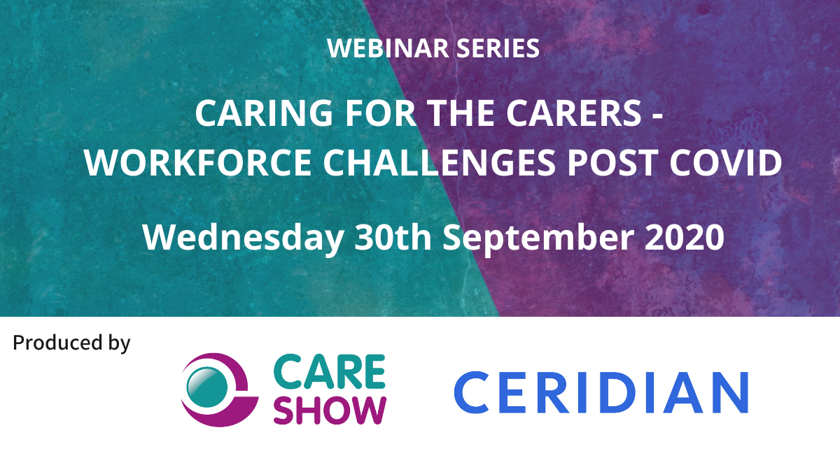 Register for 'Caring for the Carers' Webinar Series