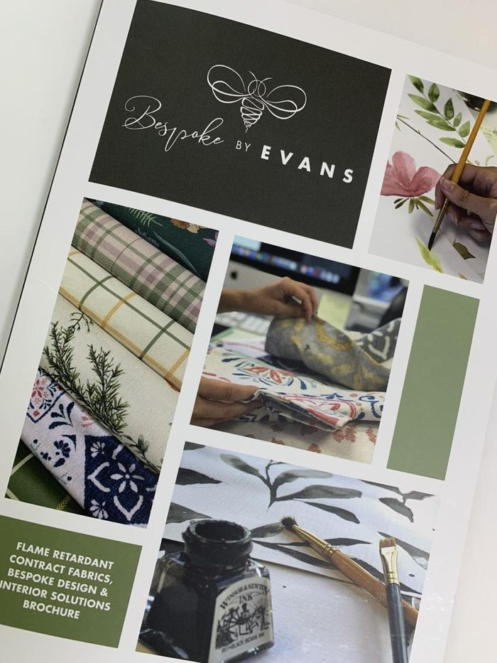 Bespoke by Evans Launch Free New Brochure for Bespoke Fabric Design & Contract Print