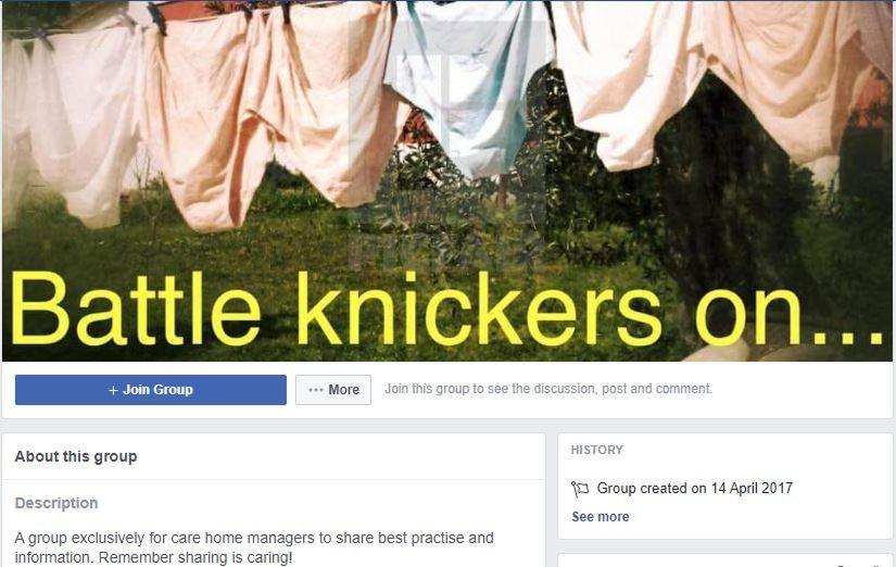 "Care Home Managers put their ""Battle Knickers on…"" to fight COVID-19"