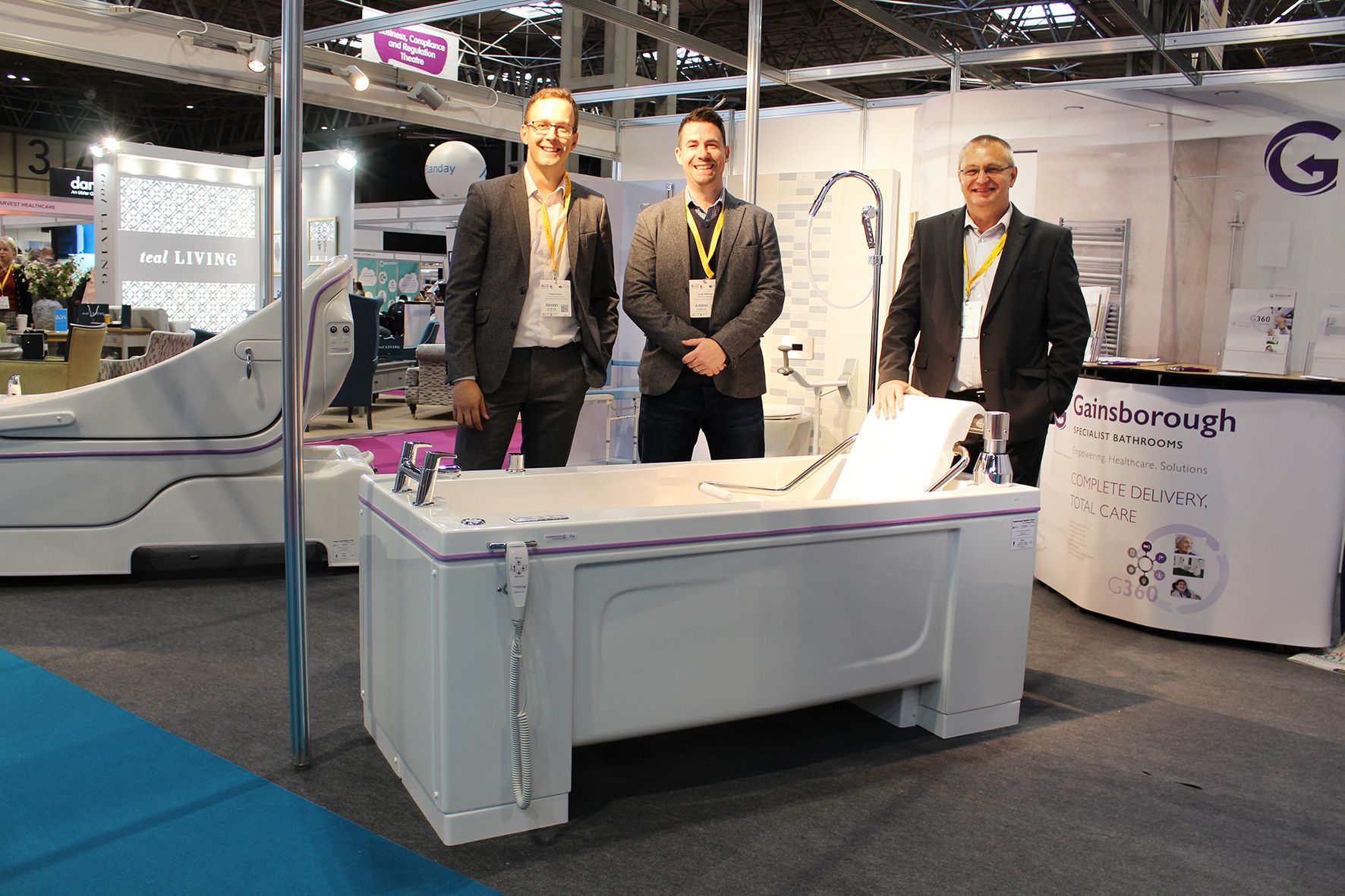 Gainsborough Specialist Bathrooms to deliver unparalleled holistic showcase at Care Show 2021
