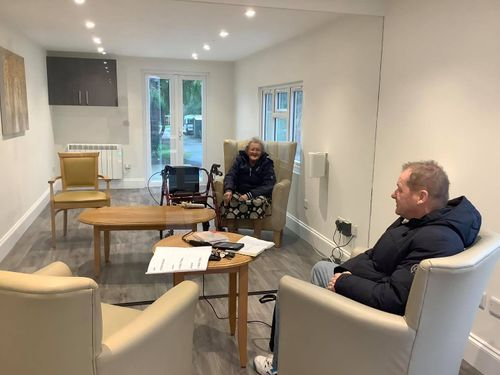 Oxfordshire care home unveils new visitors centre to continue to keep Covid-secure