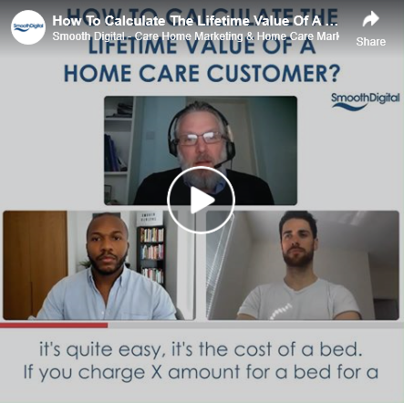 Watch the latest Tea with Toby Video: Ep 4.3 How To Calculate The Lifetime Value Of A Home Care Customer