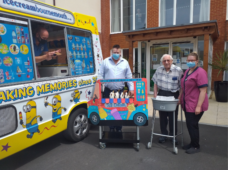 Acts of kindness at Encore Care Homes for World Wellbeing Week