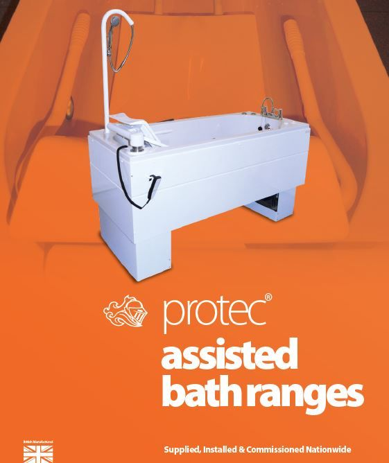 Assisted Bathing Range from Protec.