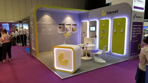 Intercall at the Care Show